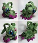 Digimon - Wormmom custom plush