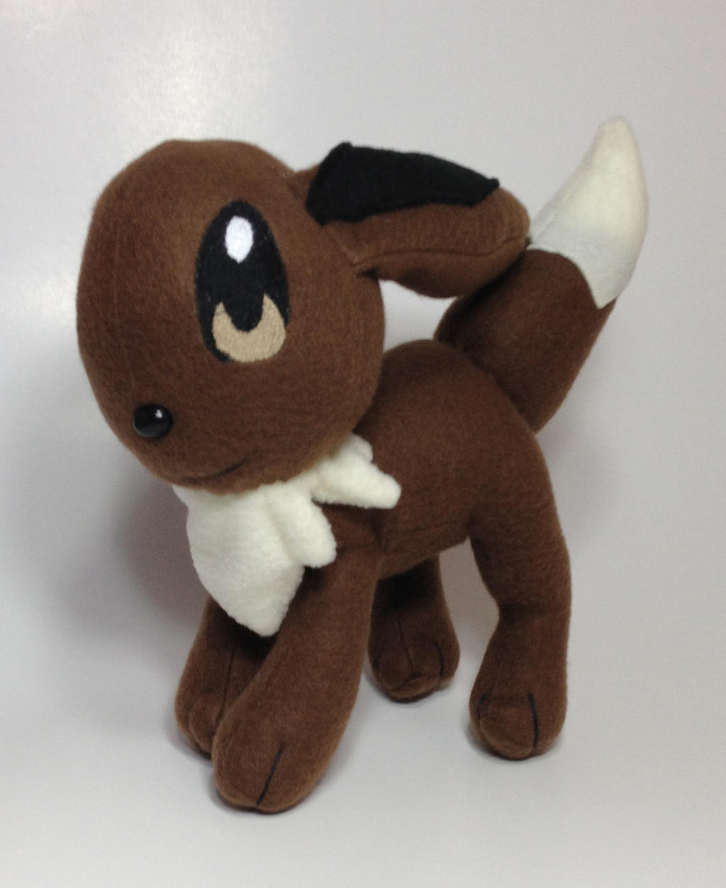 Pokemon - Eevee custom plush (for sale) by Kitamon