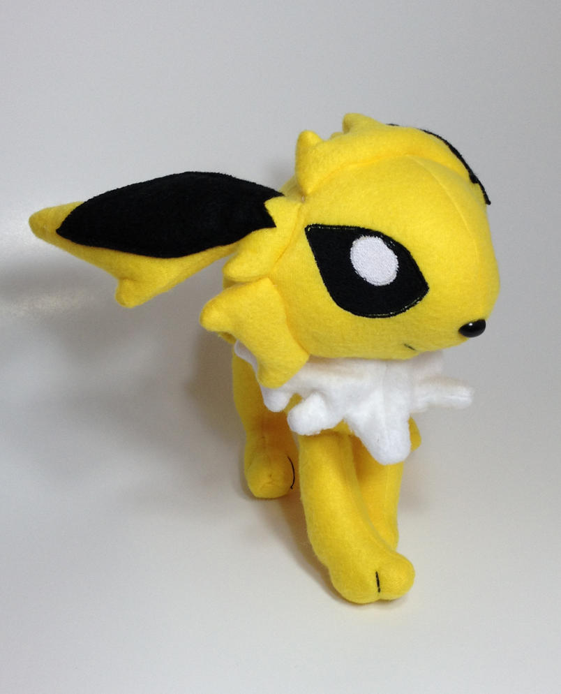Pokemon - Jolteon custom plush by Kitamon