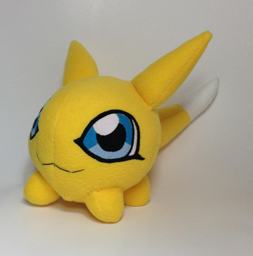 Digimon - Viximon custom plush by Kitamon