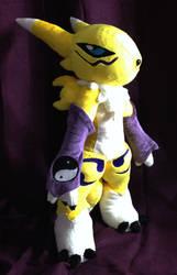 Digimon - Renamon custom plush by KitamonPlush