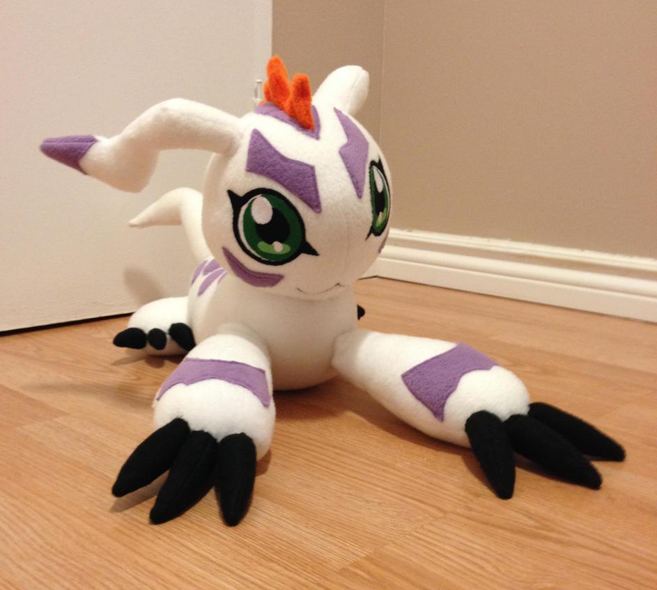 Digimon - Gomamon custom plush by Kitamon