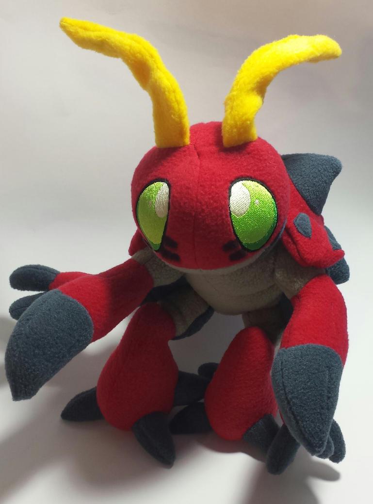 Digimon - Tentomon custom plush by Kitamon