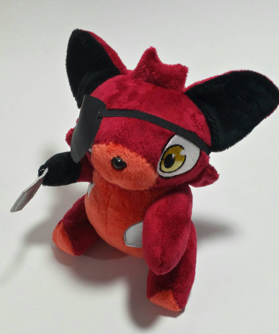 Five night at Freddy's - foxy custom plush by Kitamon