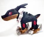 Digimon - Dobermon custom plush