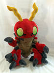 Digimon - Tentomon custom plush