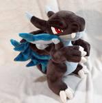 Pokemon - Mega Charizard X custom plush