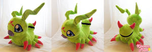 Digimon - Life size Wormmon custom plush