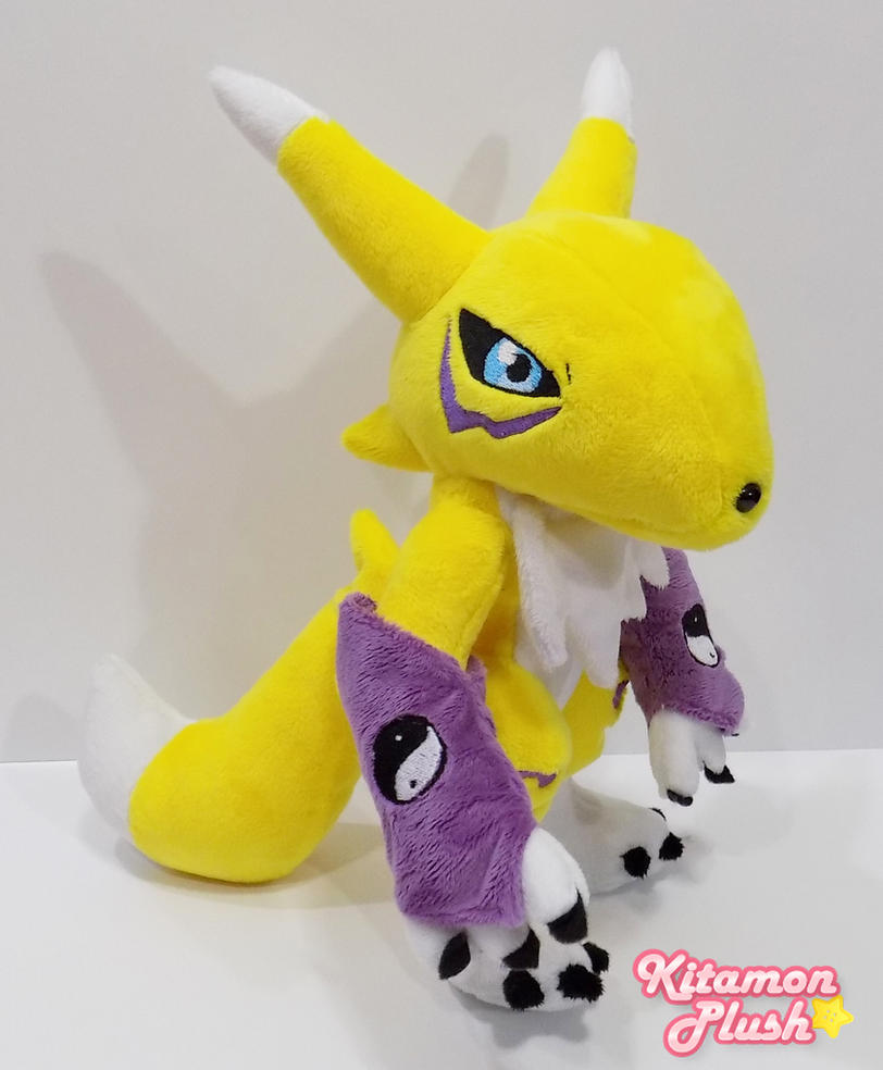 Digimon - Renamon custom plush by Kitamon