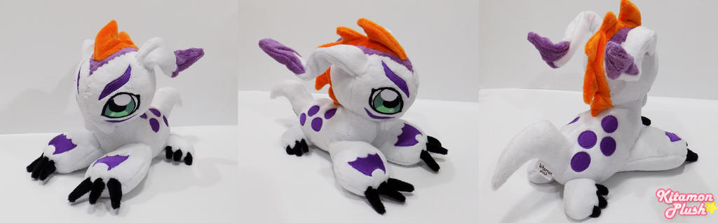 Digimon - Gomamon custom plush SOLD by Kitamon