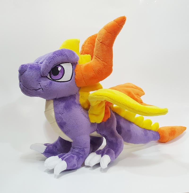 Spyro the Dragon custom plush  - for sale
