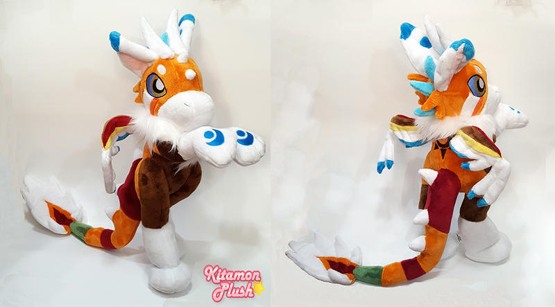 Dutch Angel Dragon - Maui custom plush commission
