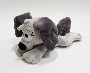 Pound Puppies - Rebound custom lying down plush  by KitamonPlush