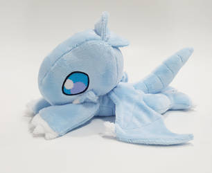 Yu-gi-Oh! Blue Eyes White Dragon beanie plush by KitamonPlush