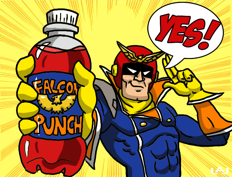 FALCON...Punch? by Red-Flare