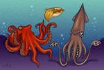 My Tentacled Friends