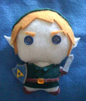 Chibi Link Plushie by Red-Flare