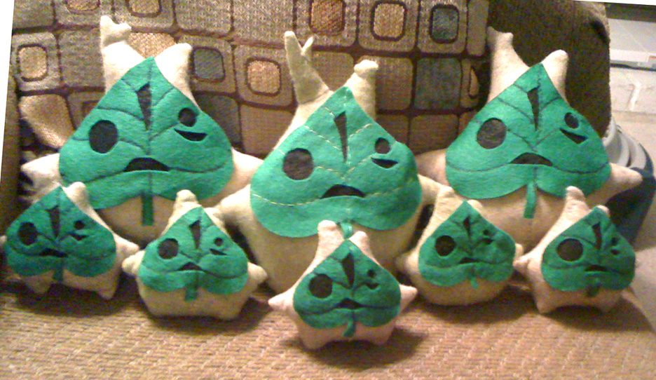 Makar Plushie Army by Red-Flare