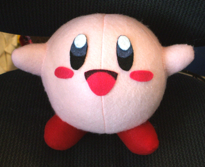 how to make a kirby plush