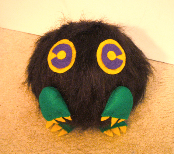 Kuriboh Plushie by Red-Flare