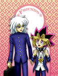 Ryou and Yugi: Friends