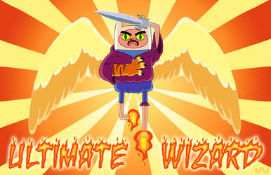 Ultimate Wizard Finn by Red-Flare