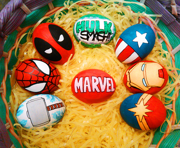 Marvel Eggs by Red-Flare