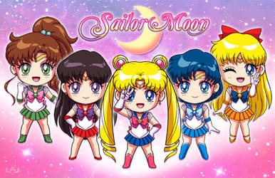 Sailor Moon by Red-Flare