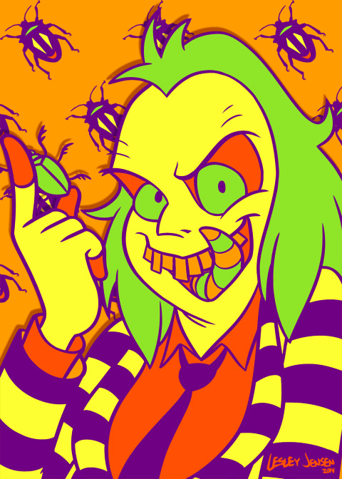 Halloween Palette Beetlejuice by Red-Flare