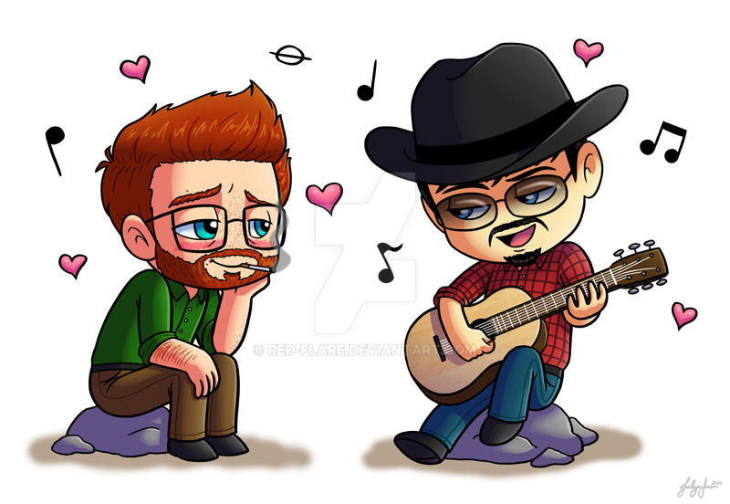 Guitar Serenade by Red-Flare