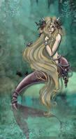 The mermaids comb