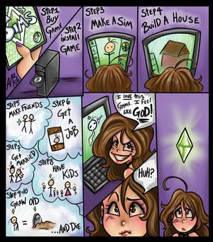 Sims addiction