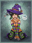 Little witch by Harpyqueen