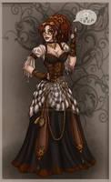 steampunk gal