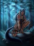 Lonewolf By Moonlight