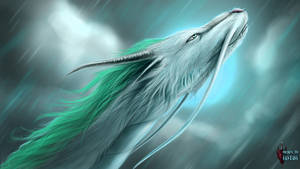 Spirited Away Haku [Speedpaint 1.5 Hrs]