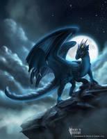 Bluenight Hasia Dragon Commission by RobertCrescenzio