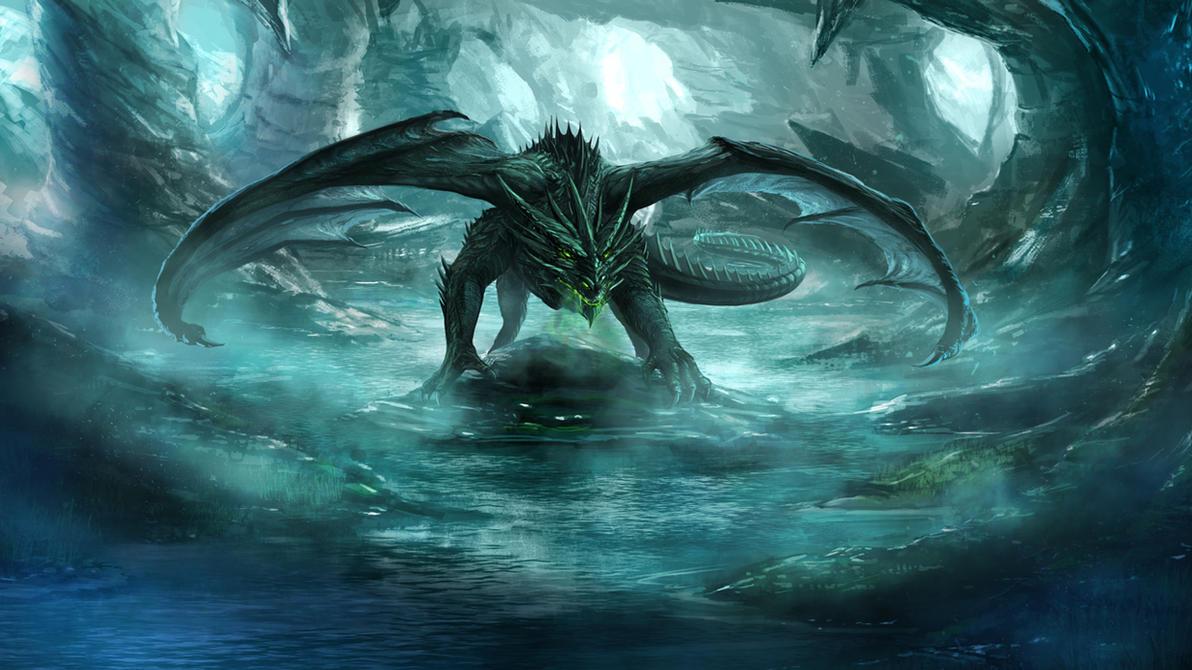 Cave Dragon By RobertCrescenzio On DeviantArt