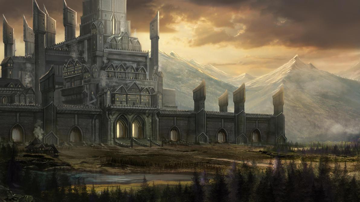 Fantasy City By Robertcrescenzio On Deviantart