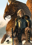 Dragon Chronicles - Gryphon and Rider