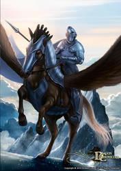 Dragon Chronicles - Pegasus and Knight