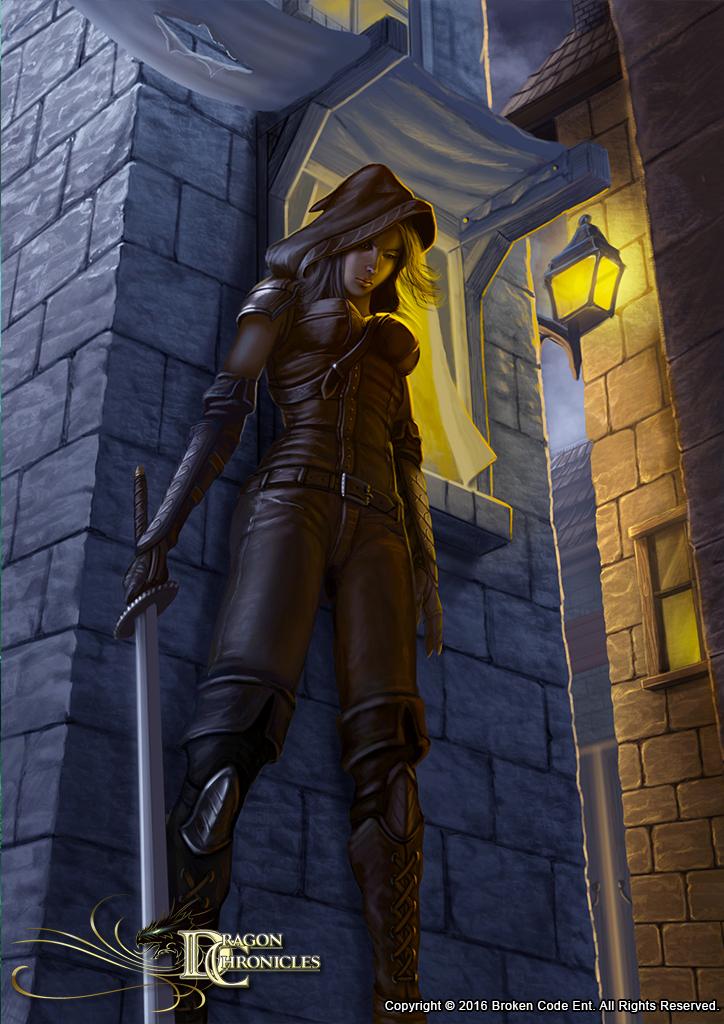 Dragon Chronicles - Assassin by RobertCrescenzio on DeviantArt