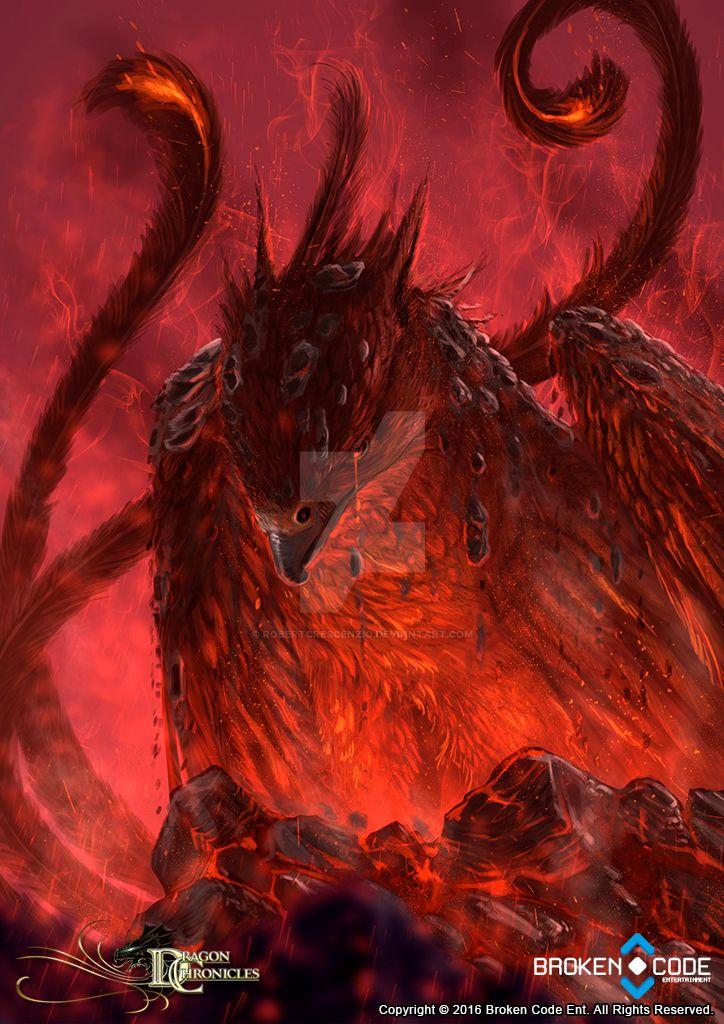Dragon Chronicles - Phoenix by RobertCrescenzio