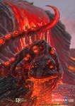 Dragon Chronicles - Lava Salamander + VIDEO