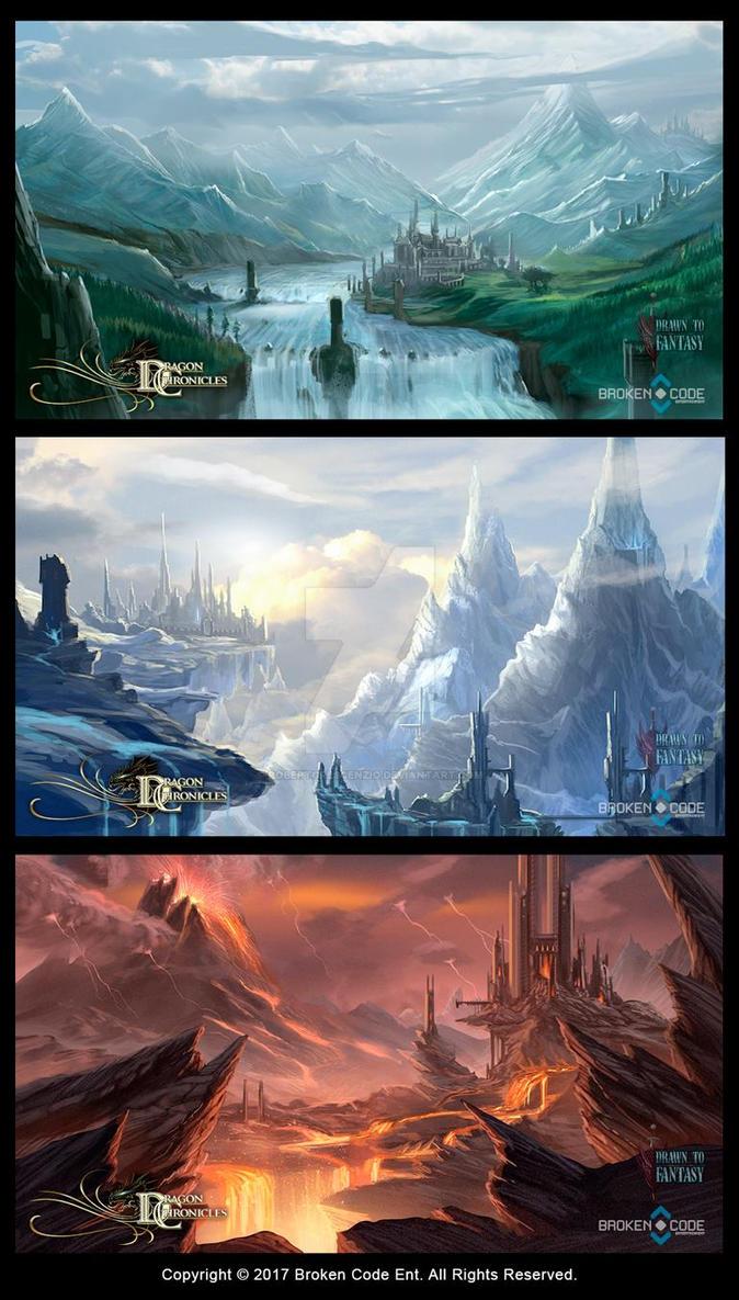 Dragon Chronicles Maps Part 1 by RobertCrescenzio