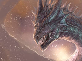 Dragon 1 hour sketch + VIDEO by RobertCrescenzio