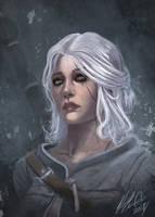 Ciri The Witcher 3 Fan Art - Study by RobertCrescenzio