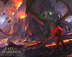 Fall to Darkness Book 2 - Crystal Dragon Trilogy by RobertCrescenzio