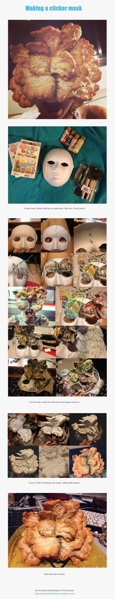 Making a Clicker Mask. by SundriedButterfinger