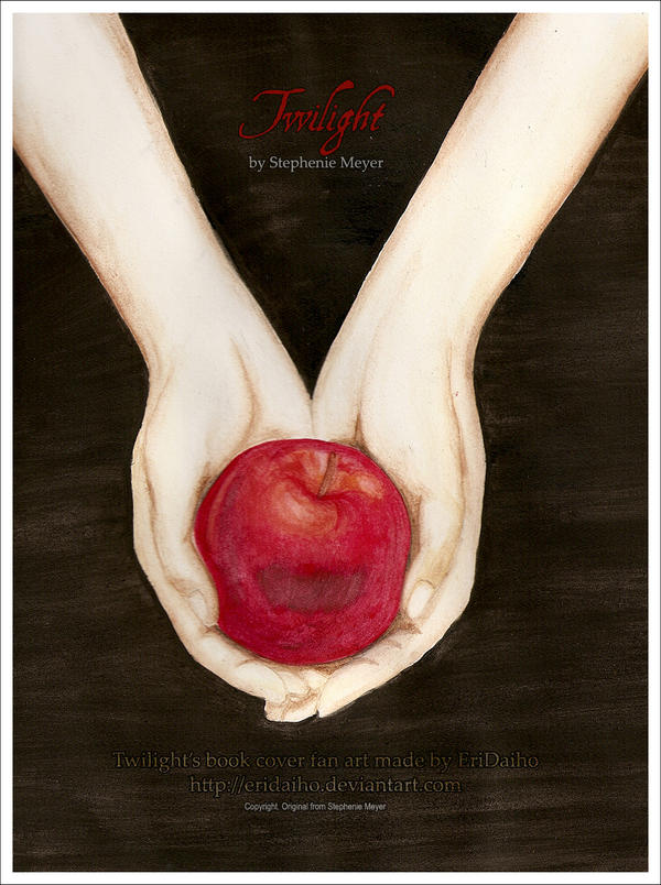 Twilight Book Cover Drawing : Twilight bookcover watercolour by eridaiho on deviantart